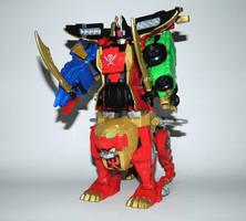 Legendary Wild Force Megazord by LinearRanger