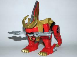 Legendary Red Lion Zord - Attack Mode by LinearRanger