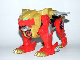 Legendary Red Lion Zord by LinearRanger