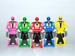 Super Megaforce Ranger Keys - Ranger Mode