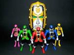 Super Megaforce Rangers and Gosei