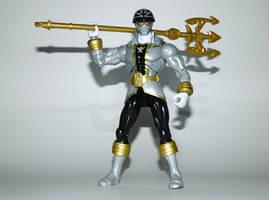 Super Mega Silver Ranger - Battle Ready by LinearRanger