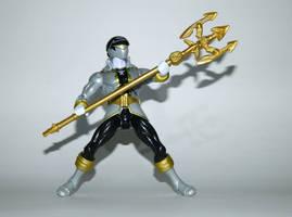 Super Mega Silver Ranger with Super Silver Spear by LinearRanger