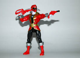 Super Megaforce Red - Battle Ready by LinearRanger