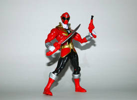 Super Megaforce Red - Ready for Action by LinearRanger