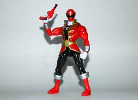 Super Megaforce Red with Super Mega Blaster by LinearRanger