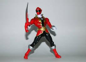 Super Megaforce Red with Super Mega Saber by LinearRanger
