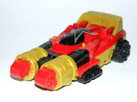 Legendary Zeo Red Battlezord Racer by LinearRanger