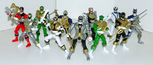 Forever 6th Rangers by LinearRanger