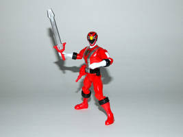 Red RPM Ranger Action Hero by LinearRanger