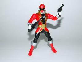 Red Super Megaforce Ranger Action Hero