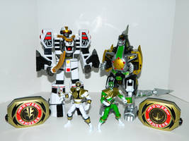 Tigerzord Power and Dragonzord Power by LinearRanger