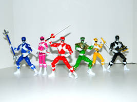 Mighty Morphin Power Rangers 3 by LinearRanger