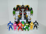 Rangers and Ultrazord 1
