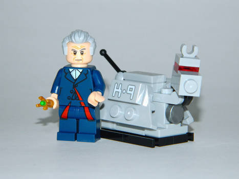 The Doctor and K-9