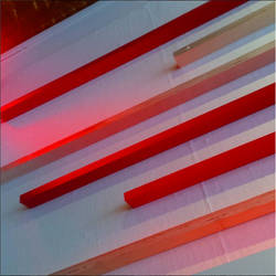 Red Lines of Wood by robinsonishyde