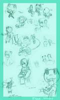 Fran doodles