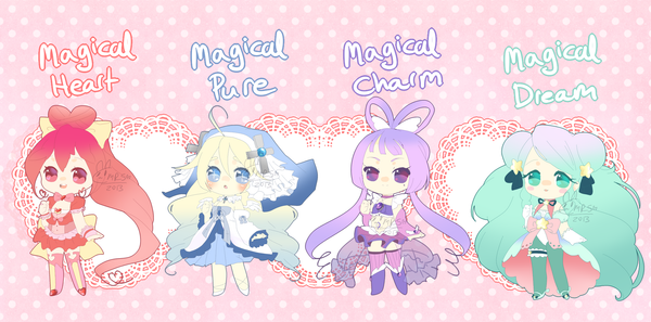 Magical Girl Adopties [Closed] by puddinprincess