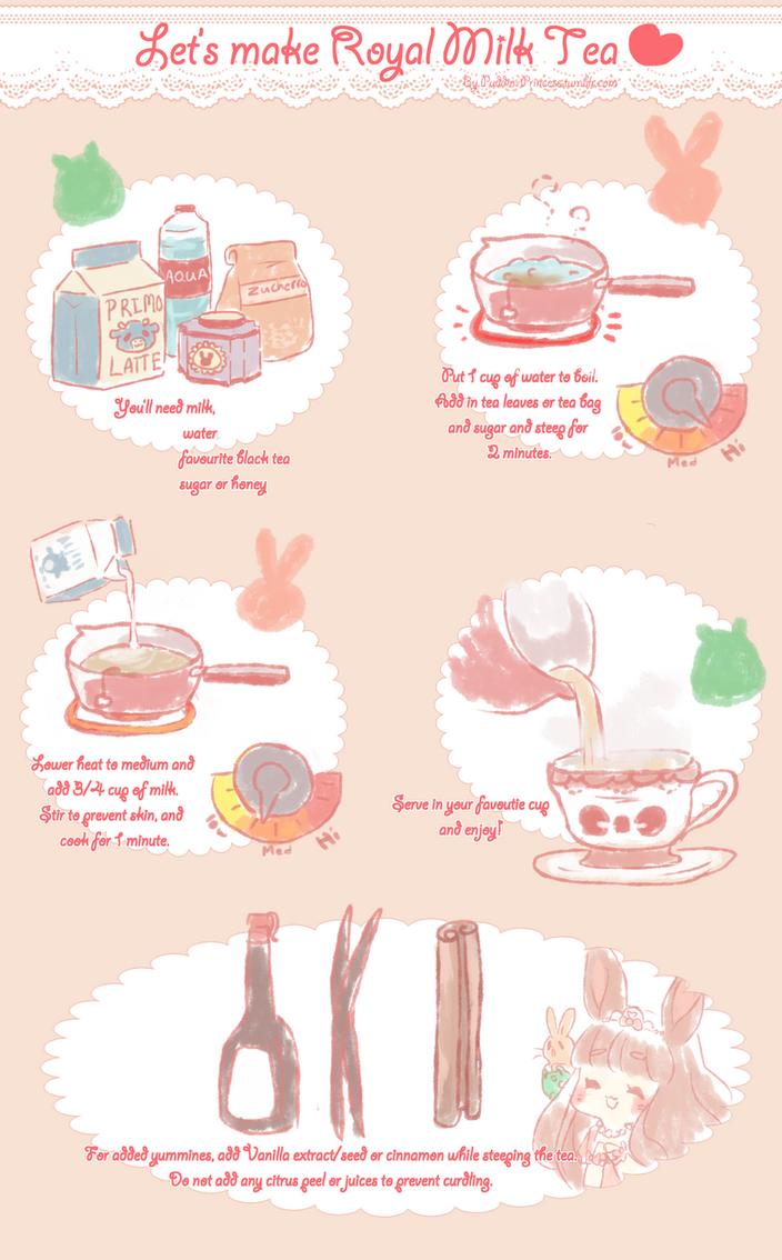 Let's make Royal Milk Tea by puddinprincess
