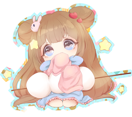 CC: Pastel BunBun by puddinprincess