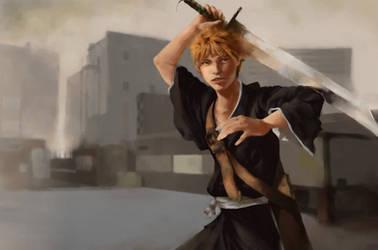 Kurosaki Ichigo by Guennol