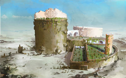 Queen's Castle by Guennol