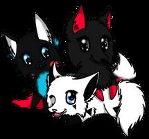 .:CM Paint, Kurai and Dusk:. by Nai-Alei