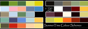 Free To Use Colour Schemes: Summer Time