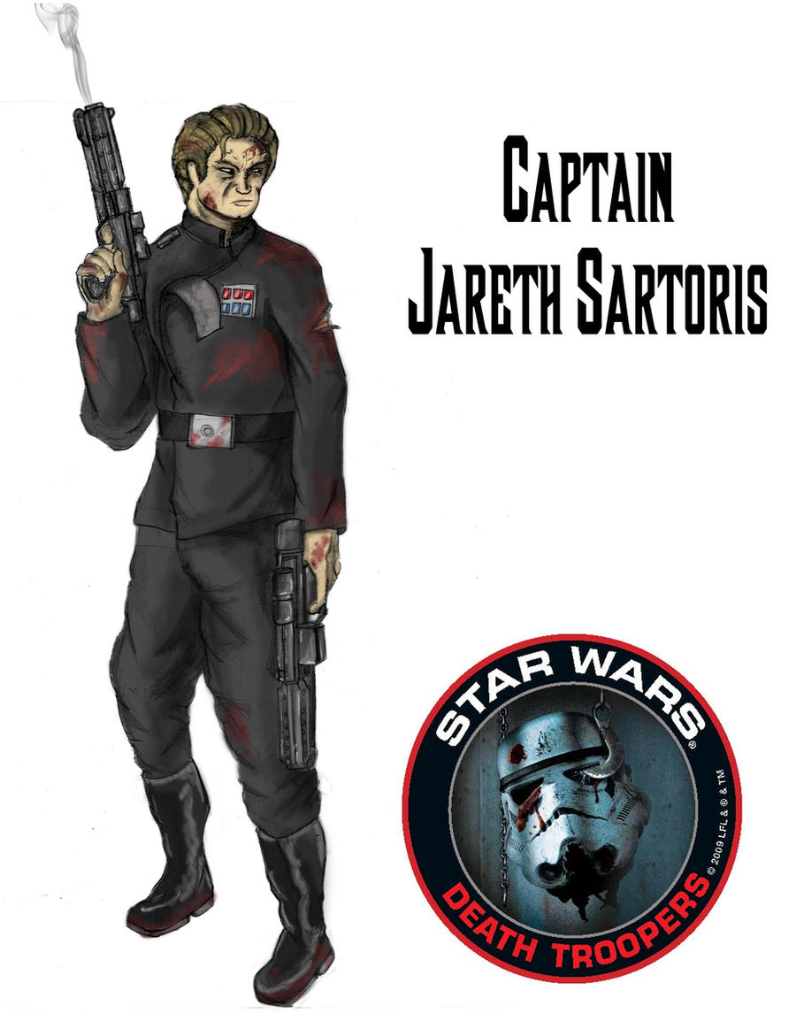 Captain Jareth Sartoris by Hunter-Fett