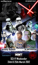 Space port weekend with 99th garrison