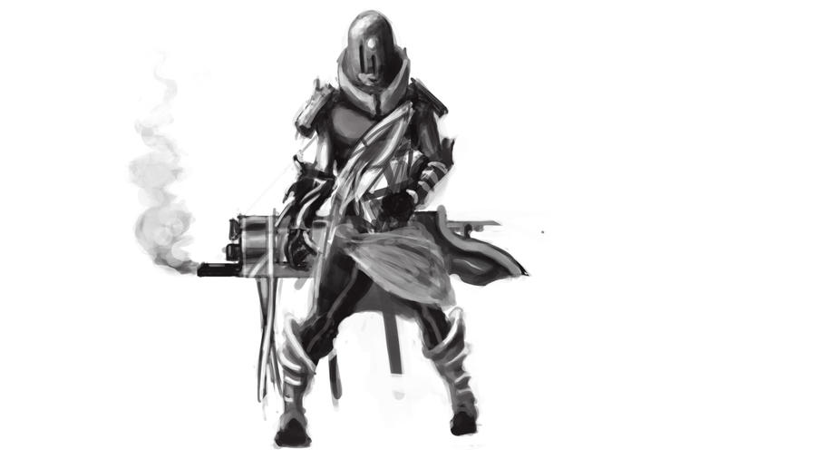 Speed paint assasin by tylerEdraws