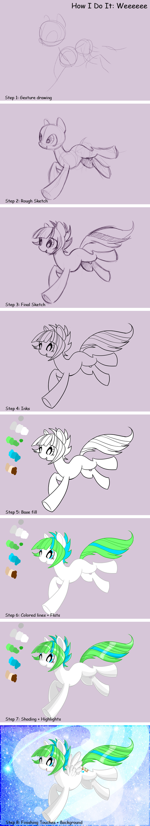 How I do it: Weeee by EllisArts