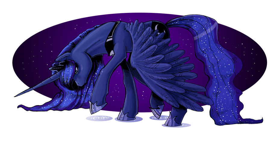 Comic Luna by EllisArts