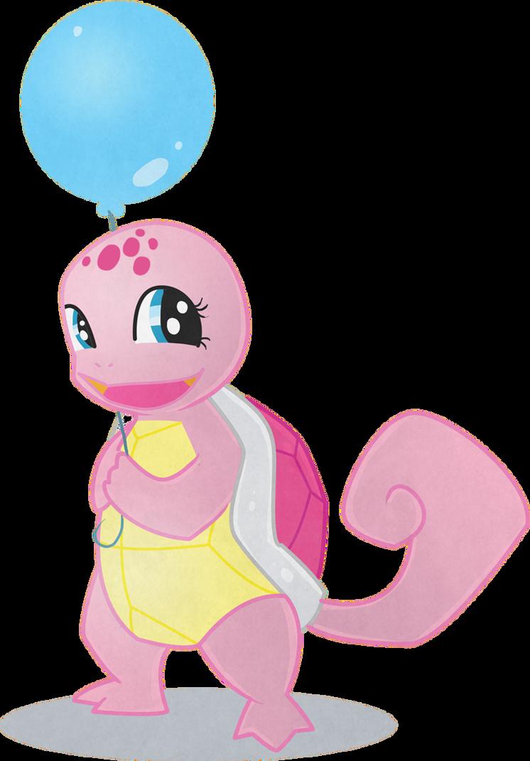 Ponymon Starters - Squirtle Pie by EllisArts