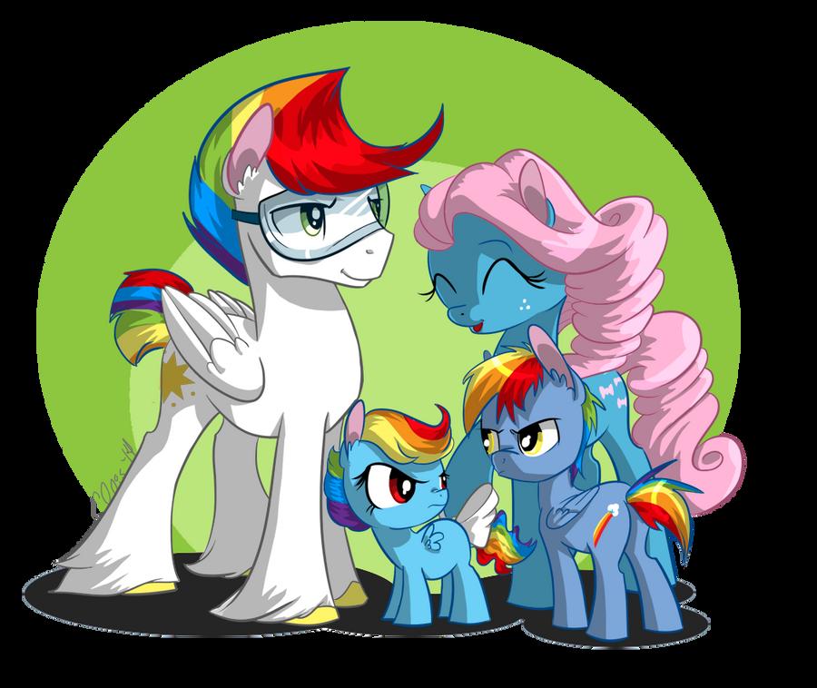 Rainbow Family by EllisArts