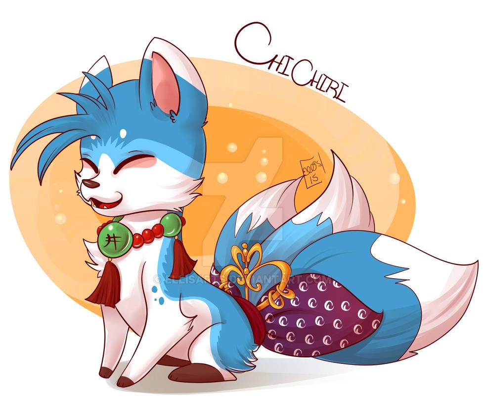 Chichiri the Fushigi Fox by EllisArts