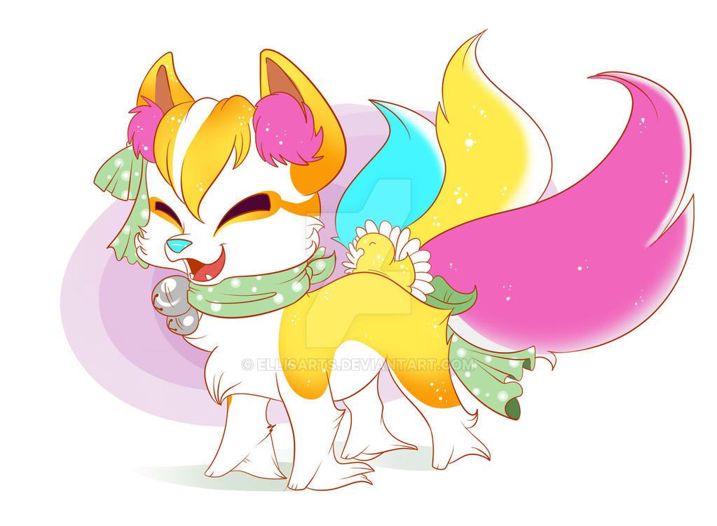 Fushigi Fox-Sweet Peep by EllisArts