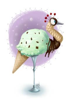 Daily Paint 3 - Ice Cream Crane