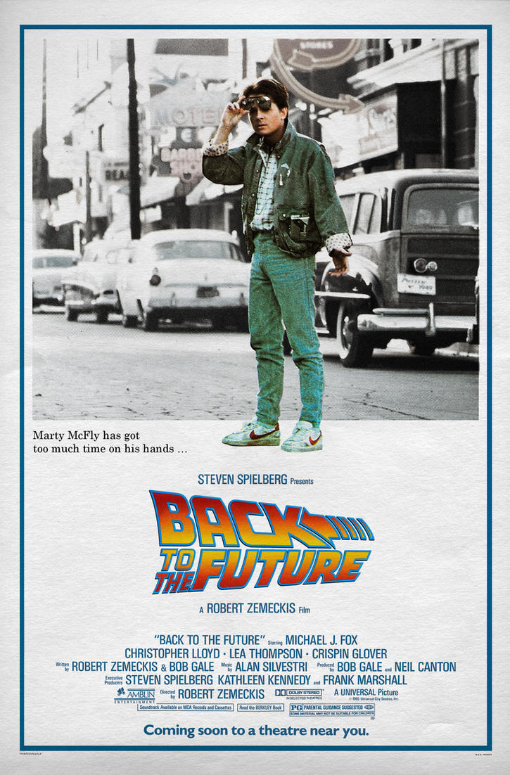 BACK TO THE FUTURE Movie Poster by Alistair-Rhythm on ...