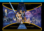 STAR WARS TRILOGY Theatrical Editions Blu-ray