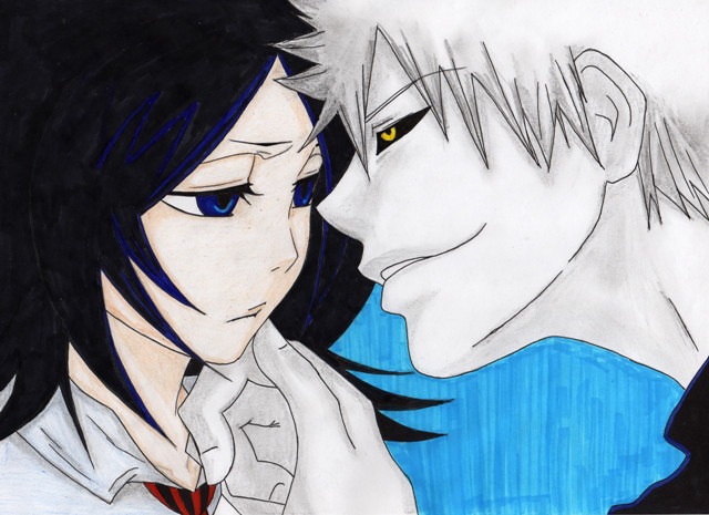 ichigo and rukia kiss - photo #11