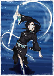 Rukia. by jessally