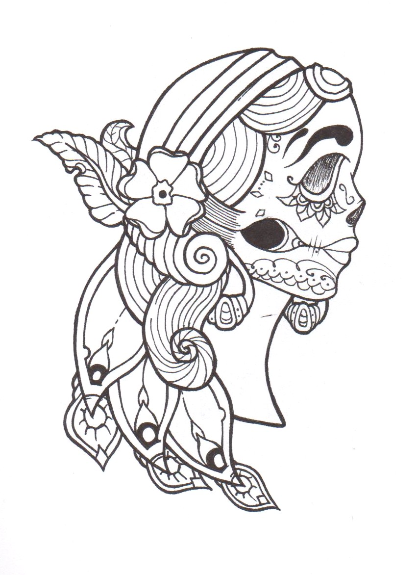 gypsy coloring pages - gypsy by truthbetold92 on deviantart