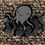 Calligraphy Squid by Mai-Ekaki