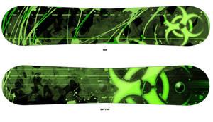 Biohazard Snowboard Design