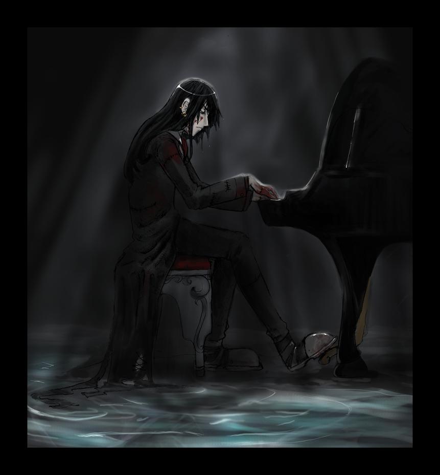 Piano Man by Mai-Ekaki