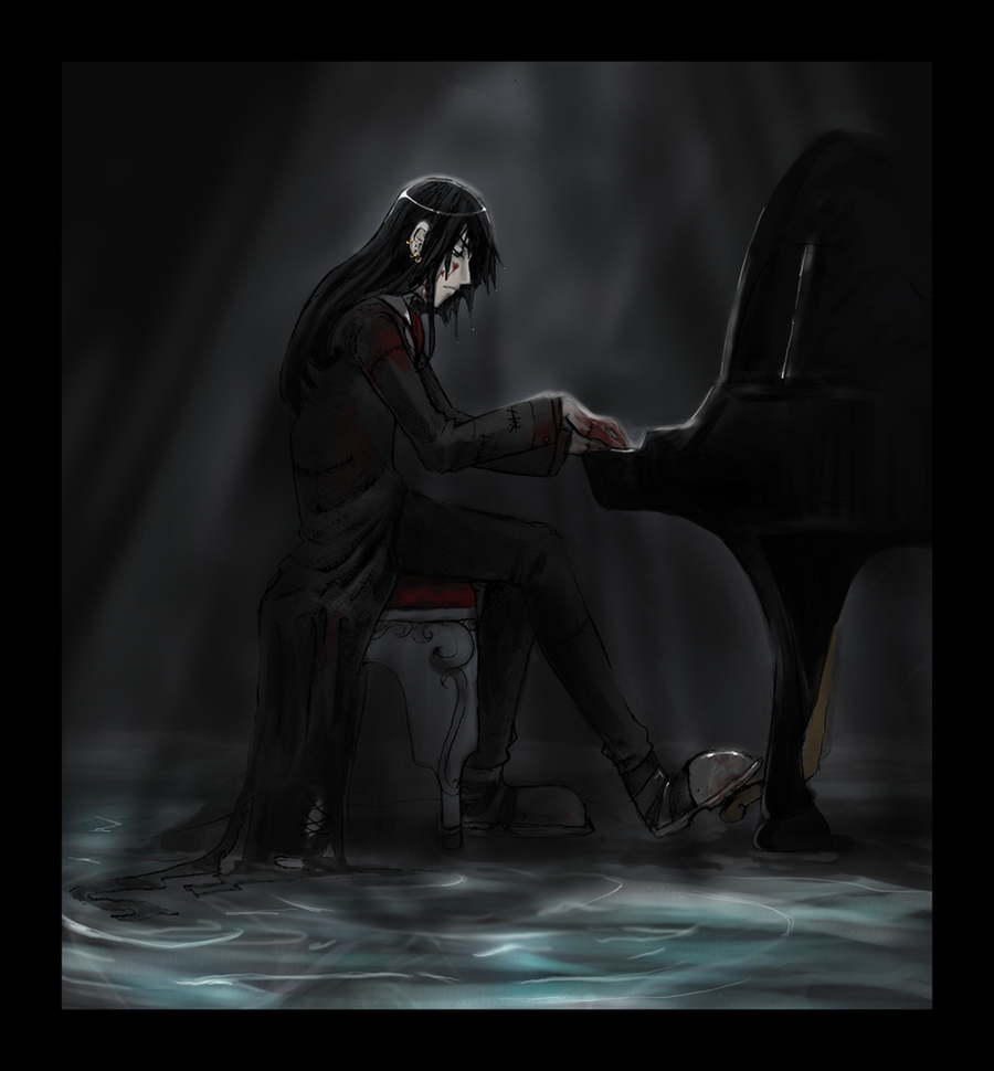 Piano Man by Mai-Ekaki