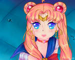| Sailor Moon - redraw challenge | by Saeye