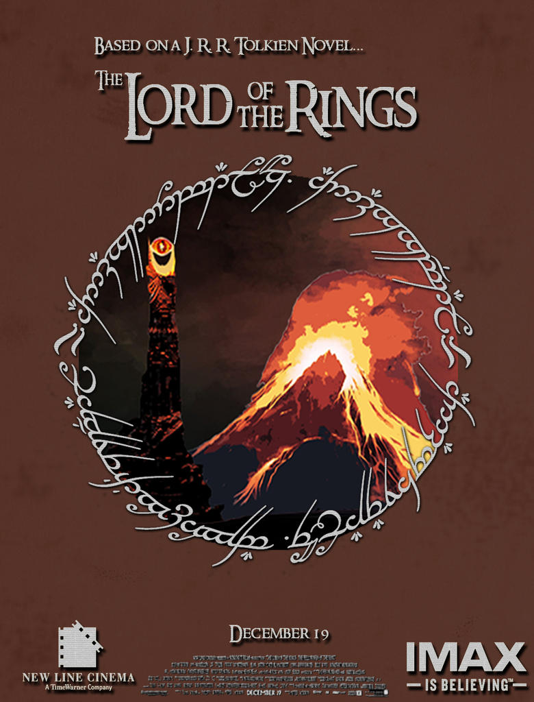 Lord Of The Rings Art Prints Made From Text
