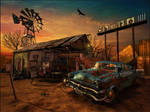 The Abandoned Gas Station